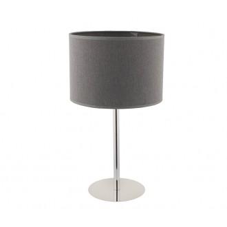 NOWODVORSKI 9301 | Hotel Nowodvorski asztali lámpa 43cm vezeték kapcsoló 1x E27 szürke, króm