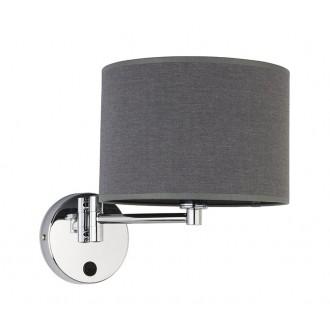 NOWODVORSKI 9303 | Hotel Nowodvorski falikar lámpa elforgatható alkatrészek 1x E14 szürke, króm