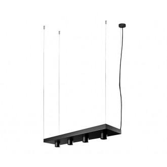 NOWODVORSKI 9381 | Plant Nowodvorski függeszték lámpa 4x GU10 fekete