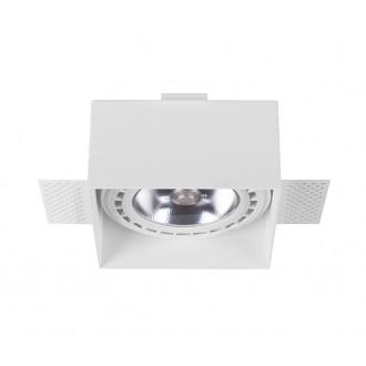 NOWODVORSKI 9408 | Mod-Plus Nowodvorski beépíthető - mélysugárzó lámpa 116x116mm 2x GU10 / ES111 fehér