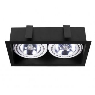 NOWODVORSKI 9416 | Mod Nowodvorski beépíthető - mélysugárzó lámpa 2x GU10 / ES111 fekete