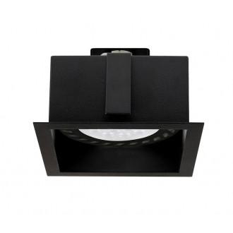 NOWODVORSKI 9417 | Mod Nowodvorski beépíthető - mélysugárzó lámpa 1x GU10 / ES111 fekete