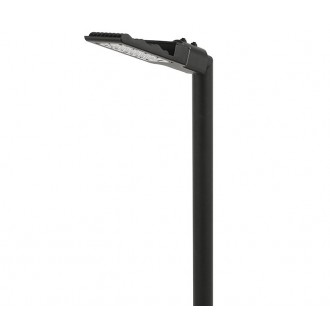 NOWODVORSKI 9420 | Pathway Nowodvorski álló lámpa 118cm 1x LED 2200lm 3000K IP44 fekete