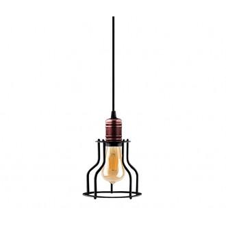 NOWODVORSKI 9427 | Profile Nowodvorski rendszerelem lámpa 1x E27 fekete, vörösréz