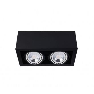 NOWODVORSKI 9470 | BoxN Nowodvorski mennyezeti lámpa elforgatható fényforrás 2x GU10 / ES111 fekete