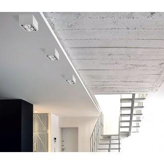 NOWODVORSKI 9472 | BoxN Nowodvorski mennyezeti lámpa elforgatható fényforrás 2x GU10 / ES111 fehér