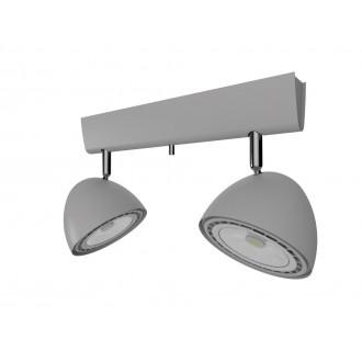 NOWODVORSKI 9488 | Vespa Nowodvorski fali, mennyezeti lámpa elforgatható alkatrészek 2x GU10 / ES111 ezüst
