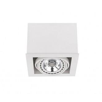 NOWODVORSKI 9497 | BoxN Nowodvorski mennyezeti lámpa elforgatható fényforrás 1x GU10 / ES111 fehér