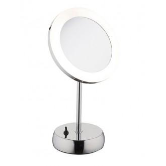 NOWODVORSKI 9504 | Makeup Nowodvorski asztali lámpa 36cm kapcsoló elforgatható alkatrészek 1x LED 43lm 4000K IP44 króm
