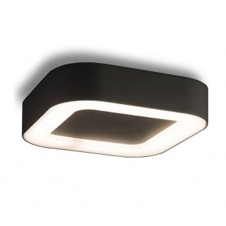 NOWODVORSKI 9513 | Puebla Nowodvorski mennyezeti lámpa 1x LED 538lm 3000K IP54 grafit, fehér