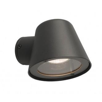 NOWODVORSKI 9555 | Soul Nowodvorski falikar lámpa 1x GU10 IP44 grafit