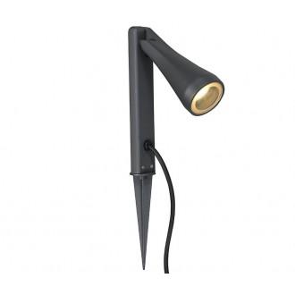 NOWODVORSKI 9561 | OttawaN Nowodvorski leszúrható lámpa elforgatható alkatrészek 1x GU10 IP44 grafit