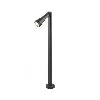 NOWODVORSKI 9563 | OttawaN Nowodvorski álló lámpa 100cm elforgatható alkatrészek 1x GU10 IP44 grafit