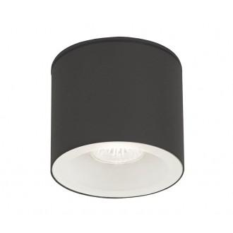 NOWODVORSKI 9565 | Hexa Nowodvorski mennyezeti lámpa 1x GU10 IP44 grafit, fehér