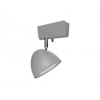 NOWODVORSKI 9590 | Vespa Nowodvorski fali, mennyezeti lámpa elforgatható alkatrészek 1x GU10 / ES111 ezüst
