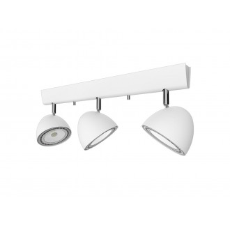 NOWODVORSKI 9592 | Vespa Nowodvorski fali, mennyezeti lámpa elforgatható alkatrészek 3x GU10 / ES111 fehér