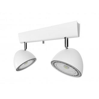NOWODVORSKI 9593 | Vespa Nowodvorski fali, mennyezeti lámpa elforgatható alkatrészek 2x GU10 / ES111 fehér