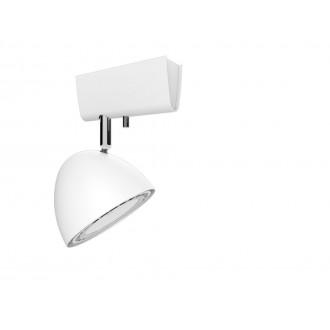 NOWODVORSKI 9594 | Vespa Nowodvorski fali, mennyezeti lámpa elforgatható alkatrészek 1x GU10 / ES111 fehér
