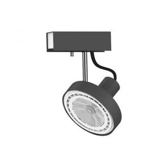 NOWODVORSKI 9598 | Cross Nowodvorski fali, mennyezeti lámpa elforgatható alkatrészek 1x GU10 / ES111 grafit, fehér