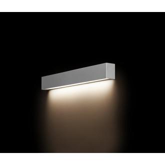 NOWODVORSKI 9613 | Straight-LED Nowodvorski fali lámpa 1x G13 / T8 800lm 3000K szürke