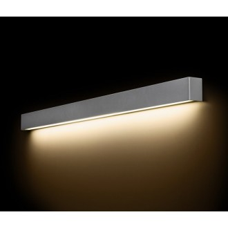 NOWODVORSKI 9615 | Straight-LED Nowodvorski fali lámpa 1x G13 / T8 1600lm 3000K szürke