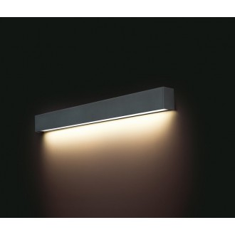 NOWODVORSKI 9617 | Straight-LED Nowodvorski fali lámpa 1x G13 / T8 1400-1500lm 3000K grafit