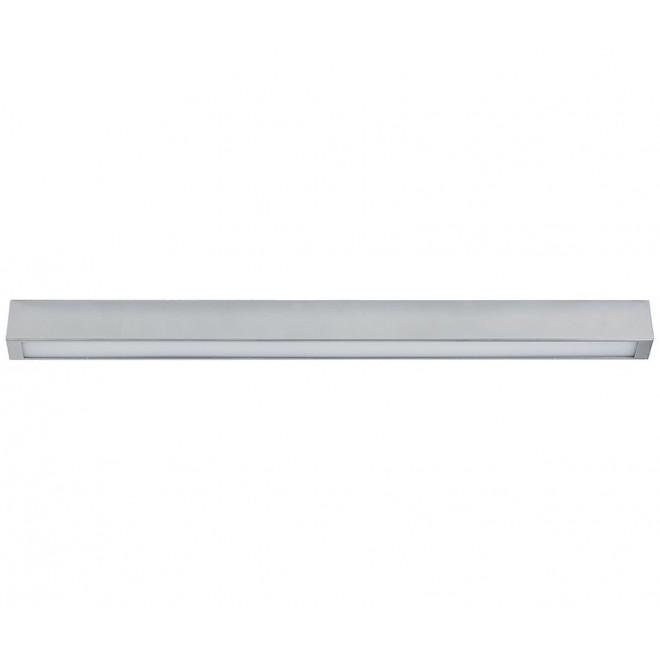 NOWODVORSKI 9624 | Straight-LED Nowodvorski mennyezeti lámpa 1x G13 / T8 1200lm 3000K szürke
