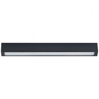 NOWODVORSKI 9626 | Straight-LED Nowodvorski mennyezeti lámpa 1x G13 / T8 800lm 3000K grafit