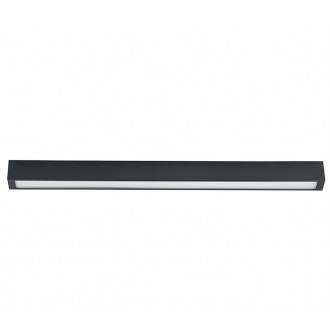 NOWODVORSKI 9627 | Straight-LED Nowodvorski mennyezeti lámpa 1x G13 / T8 1400-1500lm 3000K grafit