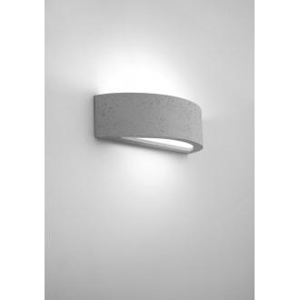 NOWODVORSKI 9633 | ArchN Nowodvorski fali lámpa 1x E27 fehér, világosszürke