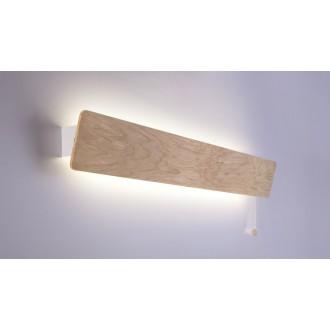 NOWODVORSKI 9634 | OsloN Nowodvorski fali lámpa húzókapcsoló elforgatható alkatrészek 1x G13 / T8 1200lm 3000K natúr, fehér
