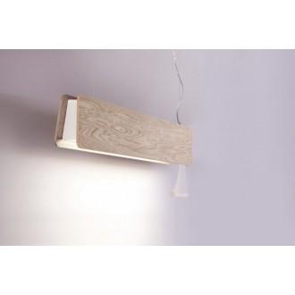 NOWODVORSKI 9635 | OsloN Nowodvorski függeszték lámpa húzókapcsoló 1x G13 / T8 800lm 3000K natúr, fehér