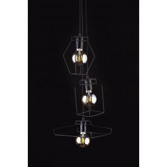 NOWODVORSKI 9666 | Fiord Nowodvorski függeszték lámpa 3x E27 fekete