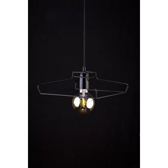 NOWODVORSKI 9667 | Fiord Nowodvorski függeszték lámpa 1x E27 fekete