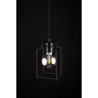 NOWODVORSKI 9668 | Fiord Nowodvorski függeszték lámpa 1x E27 fekete