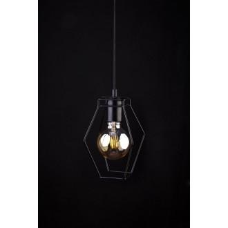 NOWODVORSKI 9670 | Fiord Nowodvorski függeszték lámpa 1x E27 fekete
