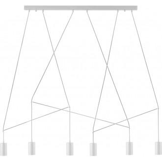 NOWODVORSKI 9674 | Imbria Nowodvorski függeszték lámpa 6x GU10 fehér