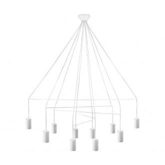 NOWODVORSKI 9678 | Imbria Nowodvorski függeszték lámpa 10x GU10 fehér
