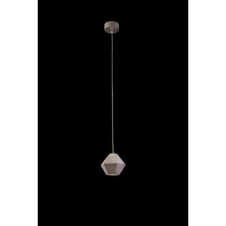 NOWODVORSKI 9697 | Geometric Nowodvorski függeszték lámpa 1x GU10 szürke