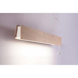 NOWODVORSKI 9698 | OsloN Nowodvorski függeszték lámpa húzókapcsoló 1x G13 / T8 1200lm 3000K natúr, fehér