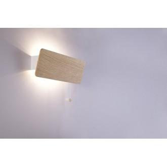 NOWODVORSKI 9700 | OsloN Nowodvorski fali lámpa húzókapcsoló elforgatható alkatrészek 1x E14 natúr, fehér