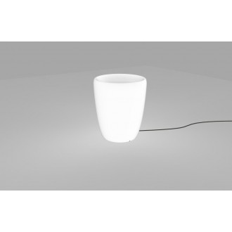 NOWODVORSKI 9711 | Flowerpot Nowodvorski dekor lámpa vezetékkel, villásdugóval elátott 1x E27 IP65 fehér