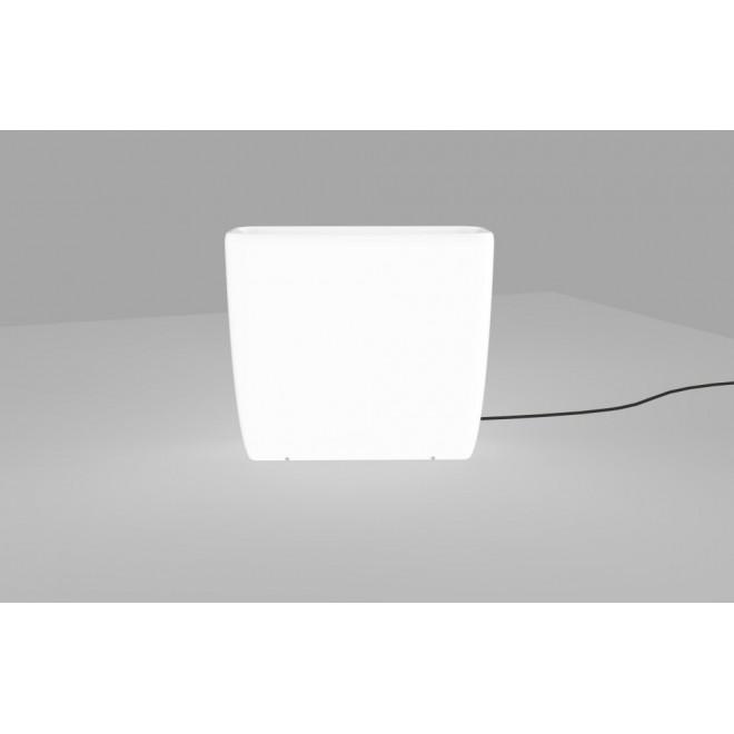 NOWODVORSKI 9713 | Flowerpot Nowodvorski dekor lámpa vezetékkel, villásdugóval elátott 2x E27 IP65 fehér
