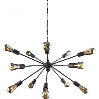 NOWODVORSKI 9733 | Rod Nowodvorski csillár lámpa 15x E27 fekete