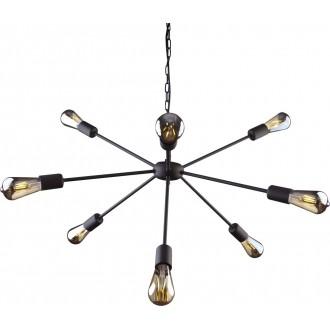 NOWODVORSKI 9734 | Rod Nowodvorski csillár lámpa 9x E27 fekete