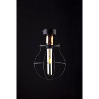 NOWODVORSKI 9741 | Manufacture Nowodvorski mennyezeti lámpa 1x E27 fekete, vörösréz