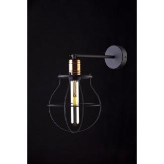 NOWODVORSKI 9742 | Manufacture Nowodvorski falikar lámpa elforgatható alkatrészek 1x E27 fekete, vörösréz