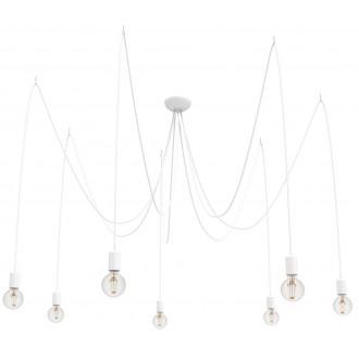 NOWODVORSKI 9743 | Spider Nowodvorski függeszték lámpa 7x E27 fehér