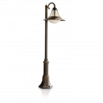 PHILIPS 15213/42/16   Provence Philips álló lámpa 124,7cm 1x E27 1570lm 2700K IP44 fekete, antikolt arany