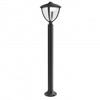 PHILIPS 15473/30/16 | Robin Philips álló lámpa 85,5cm 1x LED 430lm 2700K IP44 fekete, fehér, átlátszó